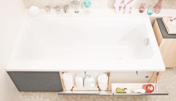Vonios Cersanit Smart apdaila