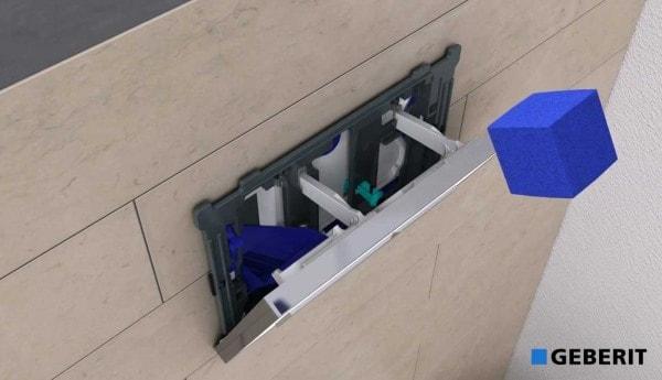 Jaukurai Geberit kvapų konteineris Sigma UP320 bakeliams