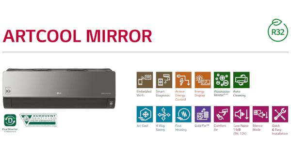 Jaukurai LG Artcool Mirror