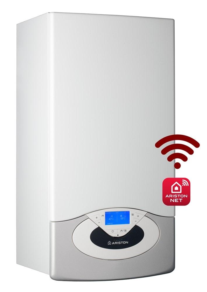 Dujinis kondensacinis katilas Ariston Genus Premium Evo, 24 kW NET, su momentiniu karšto vandens paruošimu