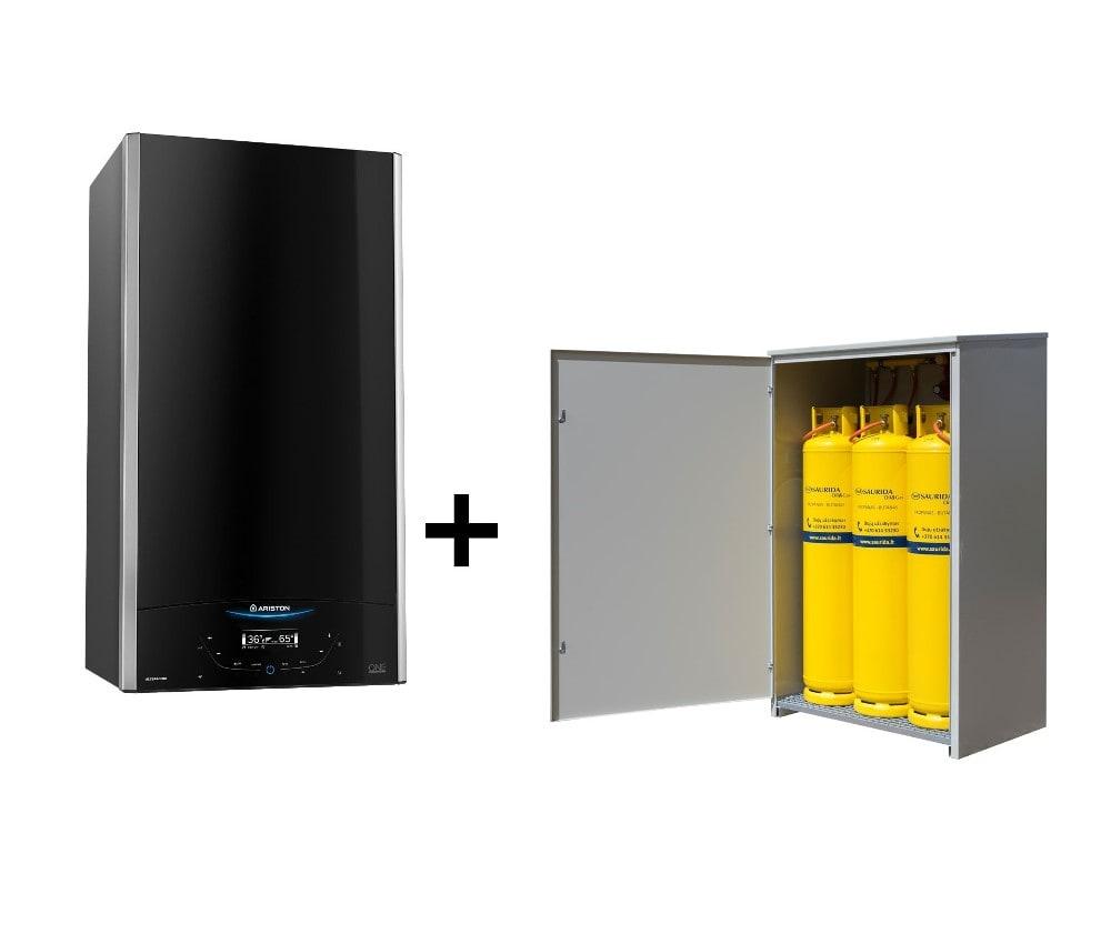 Jaukurai Ariston Alteas One Net su suskystintų dujų tiekimo sistema Saurida Gas