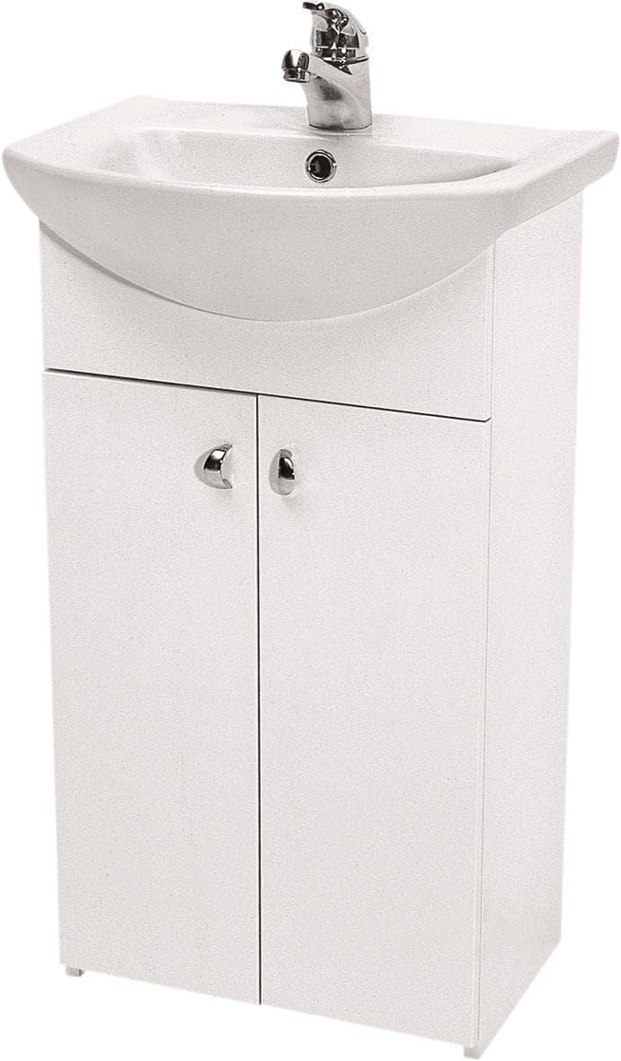 Vonios spintelė Cersanit, Bianco su praustuvu Libra 50