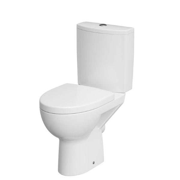 Pastatomas WC Cersanit, Parva 011 su lėtai nusileidžiančiu dangčiu