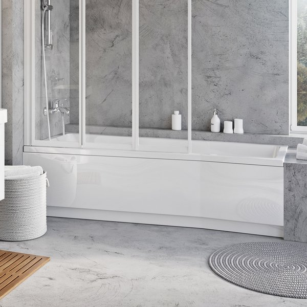 Apdailos plokštė voniai Ravak BeHappy II, 170x75, dešininė