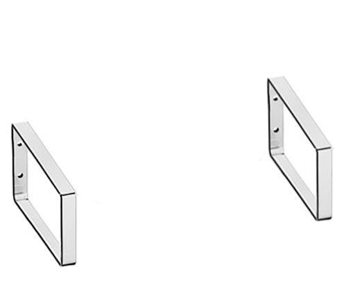 Sieniniai laikikliai praustuvui Ravak Classic Mini, chromas, 2 vnt