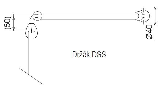 Laikiklis Ravak DSS sienelei, baltas