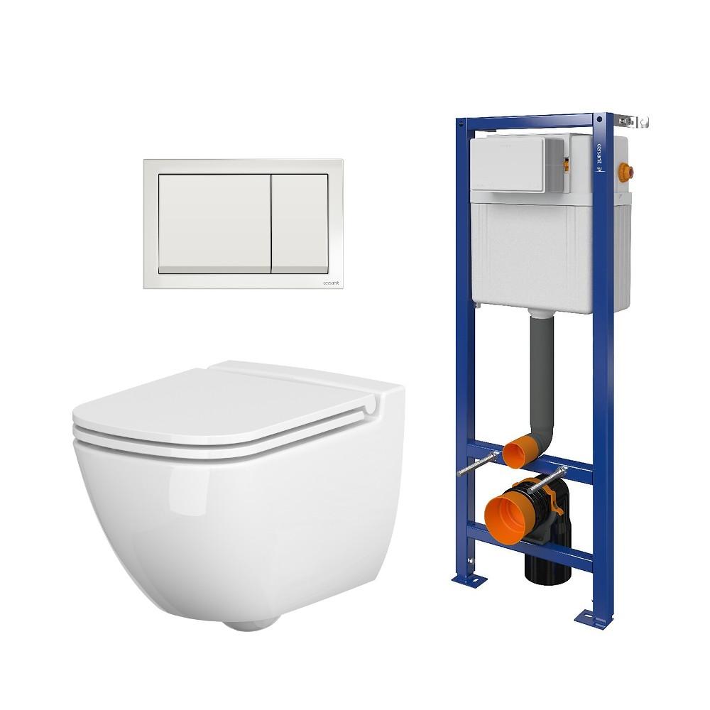 Jaukurai Cersanit Caspia WC komplektas