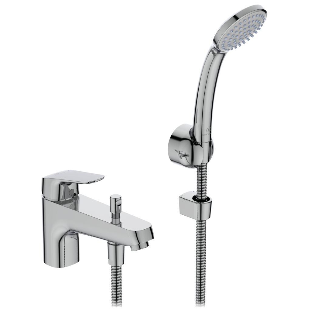 Vonios maišytuvas Ideal Standard, Ceraflex, montuojamas į kraštą, su dušo komplektu