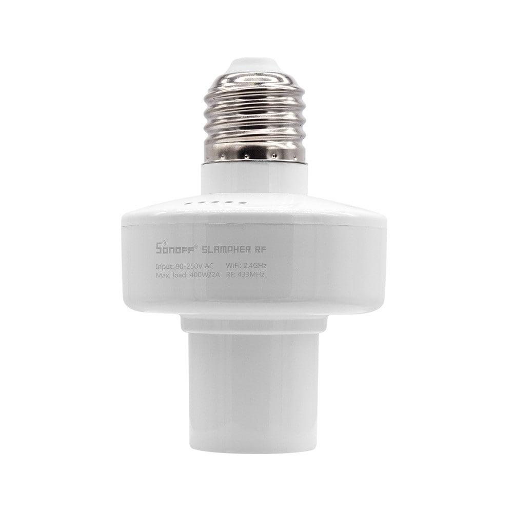 Išmanusis E27 lemputės laikiklis Sonoff Slampher