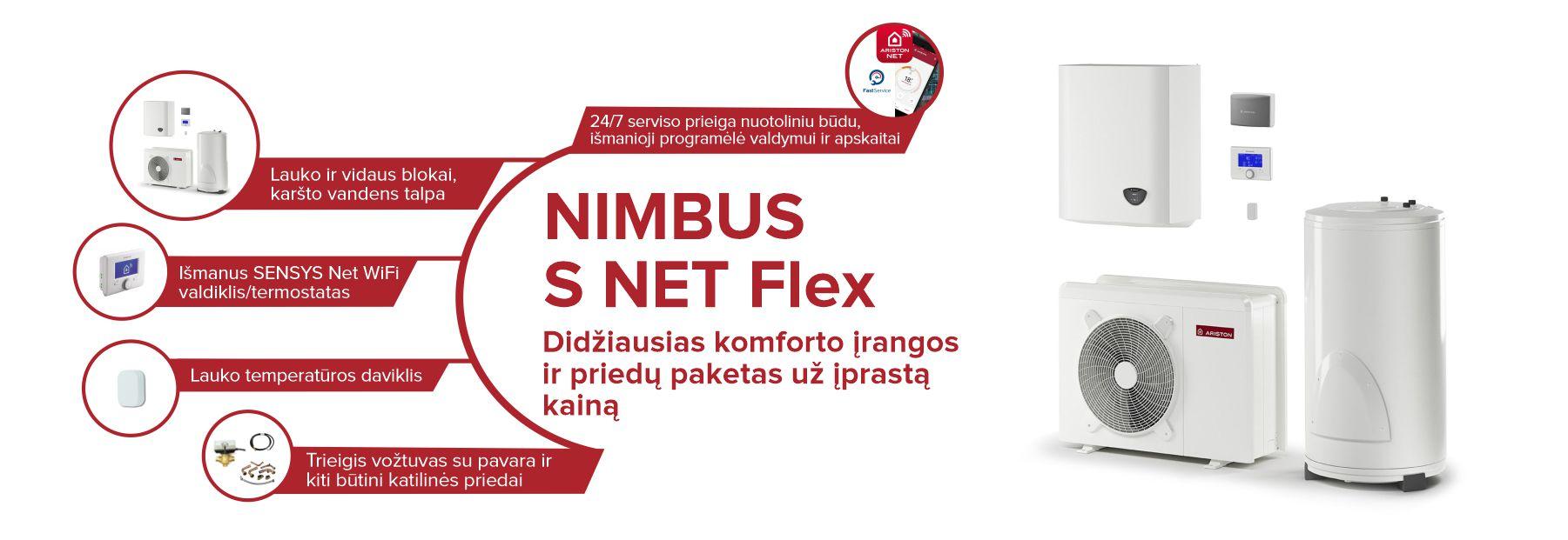 Jaukurai Naujasis Ariston Nimbus S Net