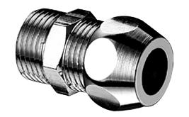 Jungtis Schell, tiesi 1/2'' x 3/8'', d 10mm, išorinis sriegis