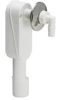 Sifonas skalbimo mašinos pajungimui VIEGA potinkinis vertikalus