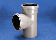 Vidaus kanalizacijos trišakis WAVIN OPTIMA, d , 110-50, 88*