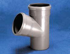 Vidaus kanalizacijos trišakis WAVIN OPTIMA, d , 110, 67*