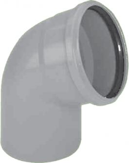 Vidaus kanalizacijos alkūnė HTB, d , 110, 45*