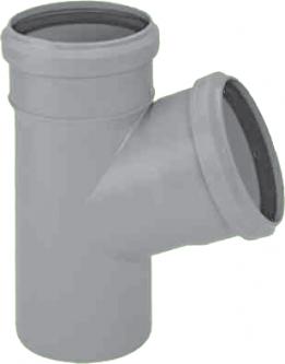Vidaus kanalizacijos trišakis HTEA, , d 40, 90*