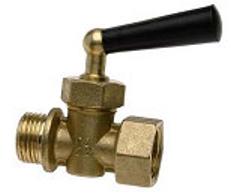 Rutulinis ventilis WATTS manometrui, trieigis RM15-MZ, d 1/2''