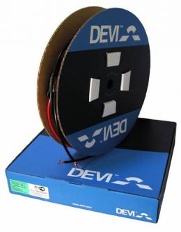 Elektrinio šildymo kabelis DEVI DSIG-20/400V , 93m 1850W