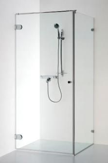 Dušo kabina Baltijos Brasta, Nora 90x90 skaidrus stiklas