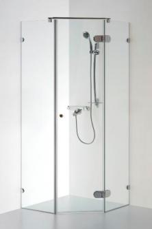 Dušo kabina Baltijos Brasta, Nida 90x90x190 skaidrus stiklas