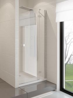 Dušo durys New Trendy Modena, 120 cm, dešininės, skaidrus stiklas