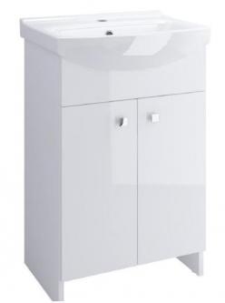 Vonios spintelė CERSANIT Cersania 50 su praustuvu