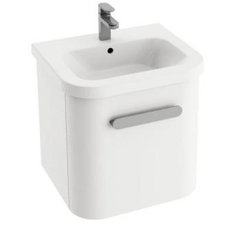 Vonios spintelė praustuvui RAVAK CHROME SD 550, Balta