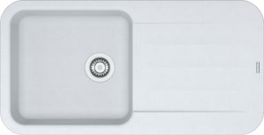 Akmens masės plautuvė FRANKE PBG 611-97 Balta  Balta