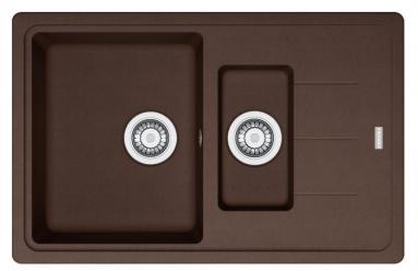 Akmens masės plautuvė Franke Basis, BFG 651-78, Chocolate