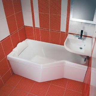 Vonios apdaila RAVAK Be Happy, 150 R