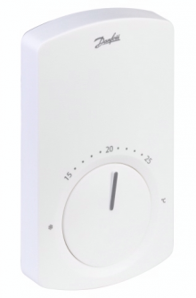 Valdymo sistema Danfoss CF2, patalpos termostatas CF-RS