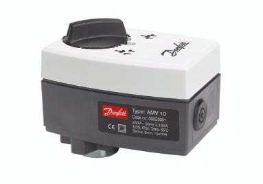 AMV 10 230V, šildymas 3-padėčių pavara