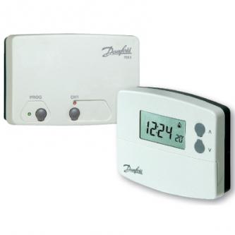 Programuojamas kambario termostatas TP4000RF+RX1 imtuvas
