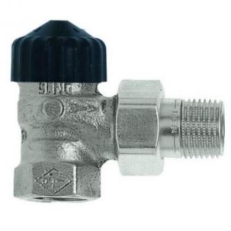 Termostatinis ventilis Heimeier, ET d1/2 kampinis, mažo pasipriešinimo
