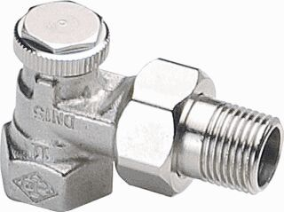Uždarymo-reguliavimo vožtuvas d1/2 K nikeliuotas REGUTEC EARE