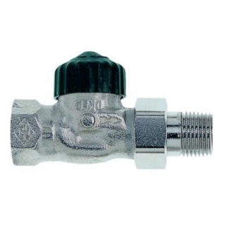 Termostatinis ventilis Heimeier, DT25, tiesus