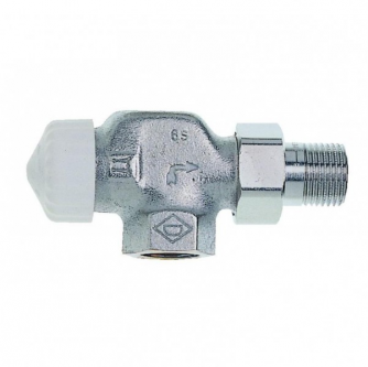 Termostatinis ventilis Heimeier, V-exact, nikeliuotas AT 15(1/2)