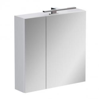 Vonios spintelė OPOCZNO Street Fusion su veidrodžiu ir LED apšvietimu, 60 cm