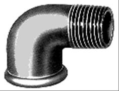 Ketaus alkūnė, d , 1''1/2, 90*, vidus-išorė