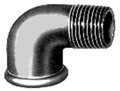 Ketaus alkūnė, d , 1''1/4, 90*, vidus-išorė