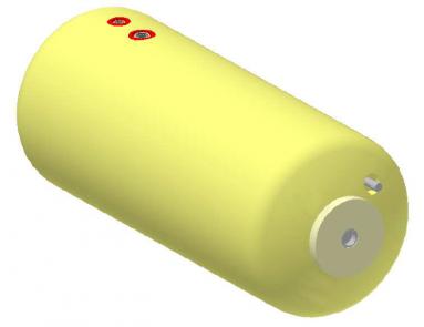 Vandens šildytuvas NIBE-BIAWAR W-E120.24 Plus 120L horizontalus, be teno
