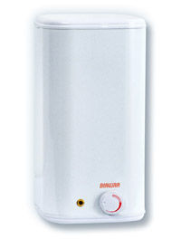 Vandens šildytuvas NIBE-BIAWAR OW-5 B virš kriauklės