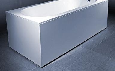 Vonios VISPOOL LIBERO apdaila, 170 U formos balta