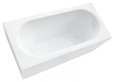 Vonios apdaila SPN LIANA 170 priekinė balta