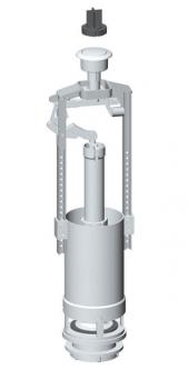 WC nuleidimo mechanizmas AlcaPlast be srovės taupymo