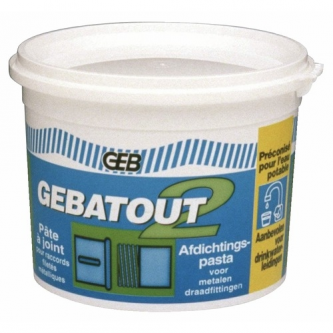 Sandarinimo pasta Gebatout, 2 TUBE 500 g