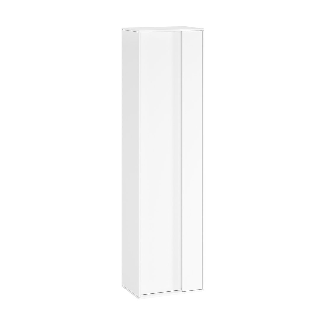 Aukšta spintelė Ravak SB 430 Step, balta/balta
