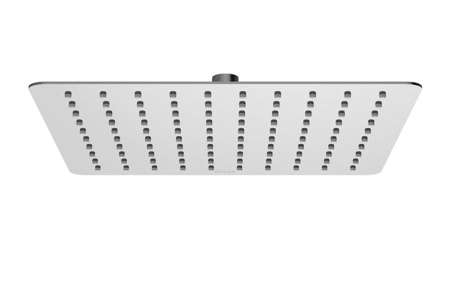 Stacionari dušo galva Ravak Chrome, kvadratinė 300 mm